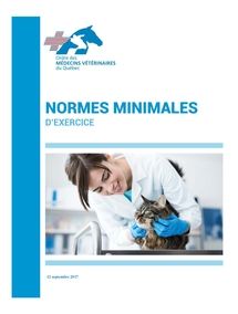 Normes minimales d'exercice